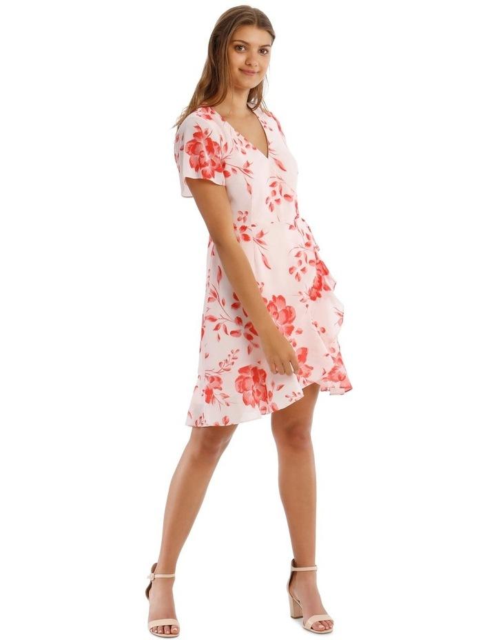Frill Skirt Wrap Dress image 2