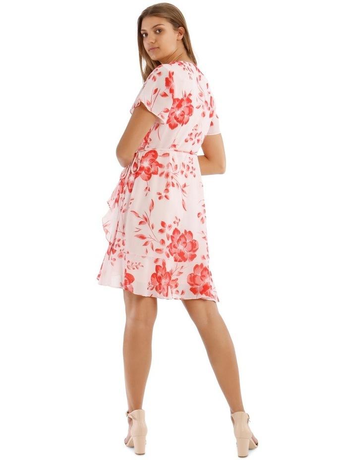 Frill Skirt Wrap Dress image 3