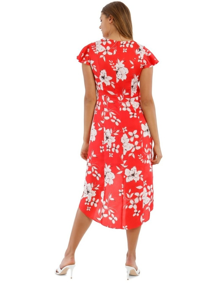 Button Front Midi Dress image 3