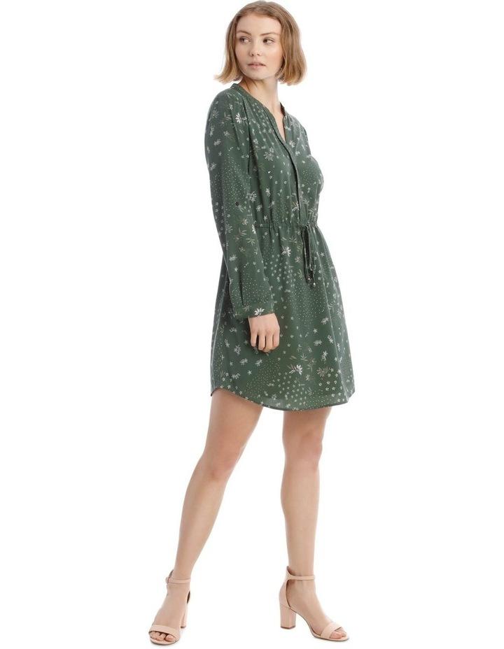 Roll Cuff Shirt Dress image 1