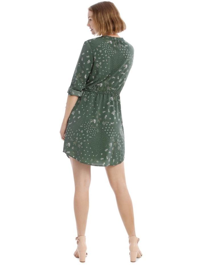 Roll Cuff Shirt Dress image 3