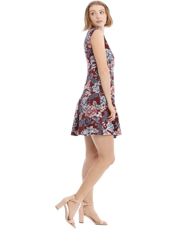 Flippy Floral Zip Front Dress image 2
