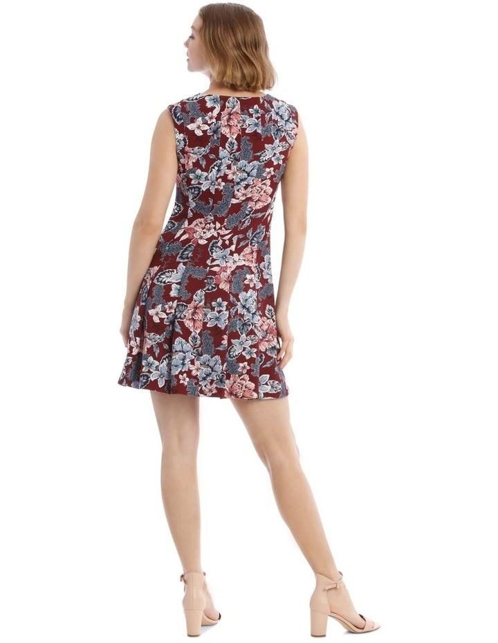 Flippy Floral Zip Front Dress image 3