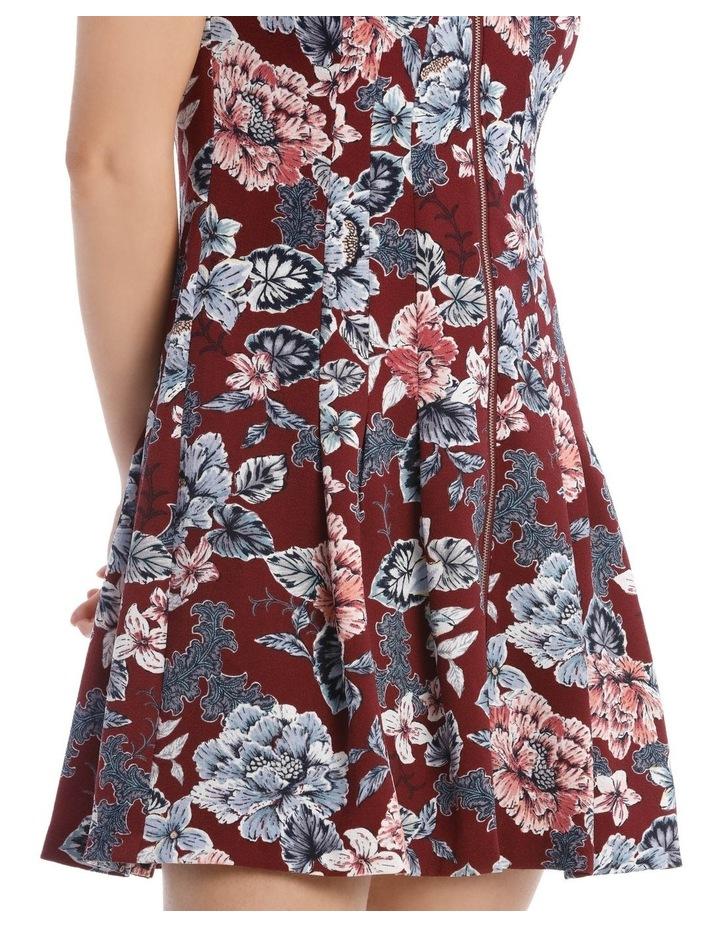 Flippy Floral Zip Front Dress image 4