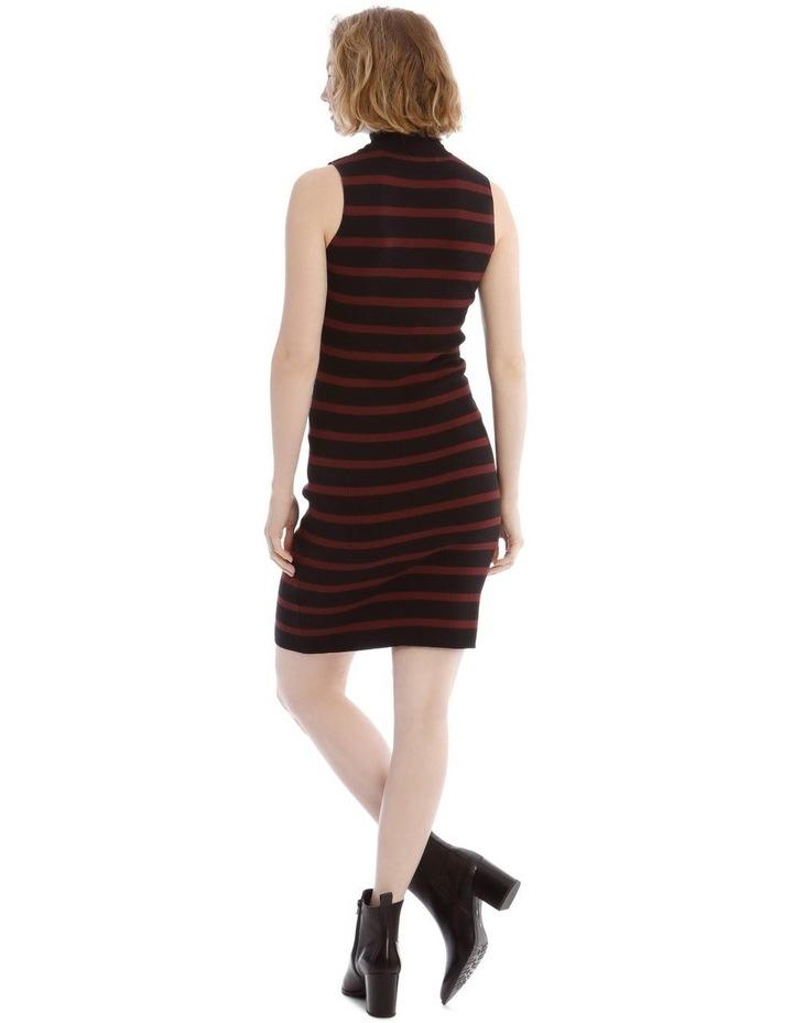 Roll Neck Rib Knit Dress image 3
