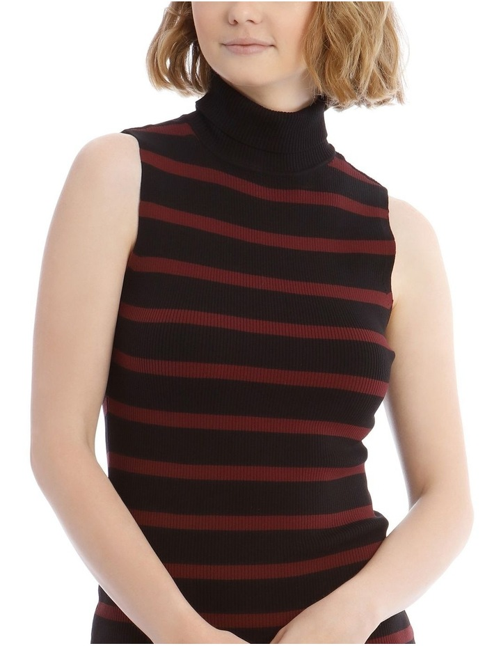 Roll Neck Rib Knit Dress image 4