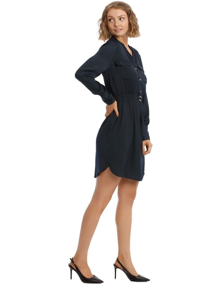 Long Sleeve Shirt Dress image 2