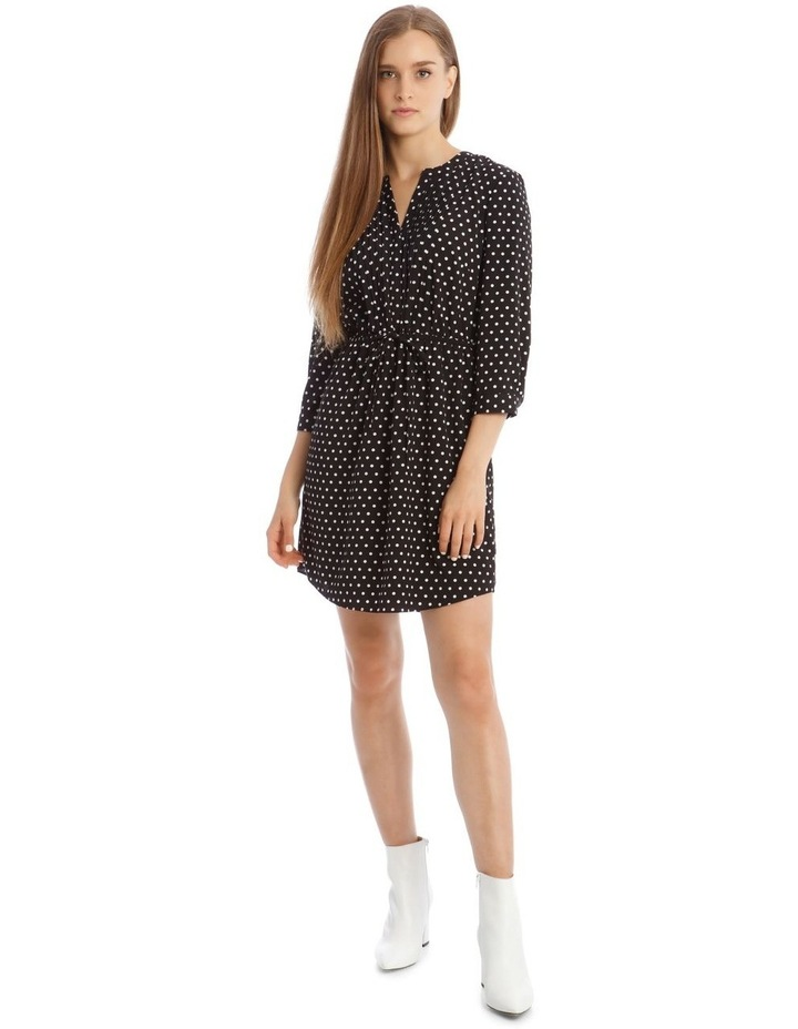 Pleat Front Shirt Dress image 1