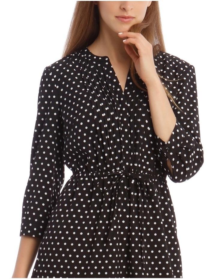 Pleat Front Shirt Dress image 4