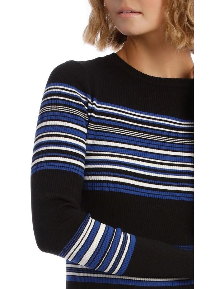 Long Sleeve Rib Knit Dress image 4