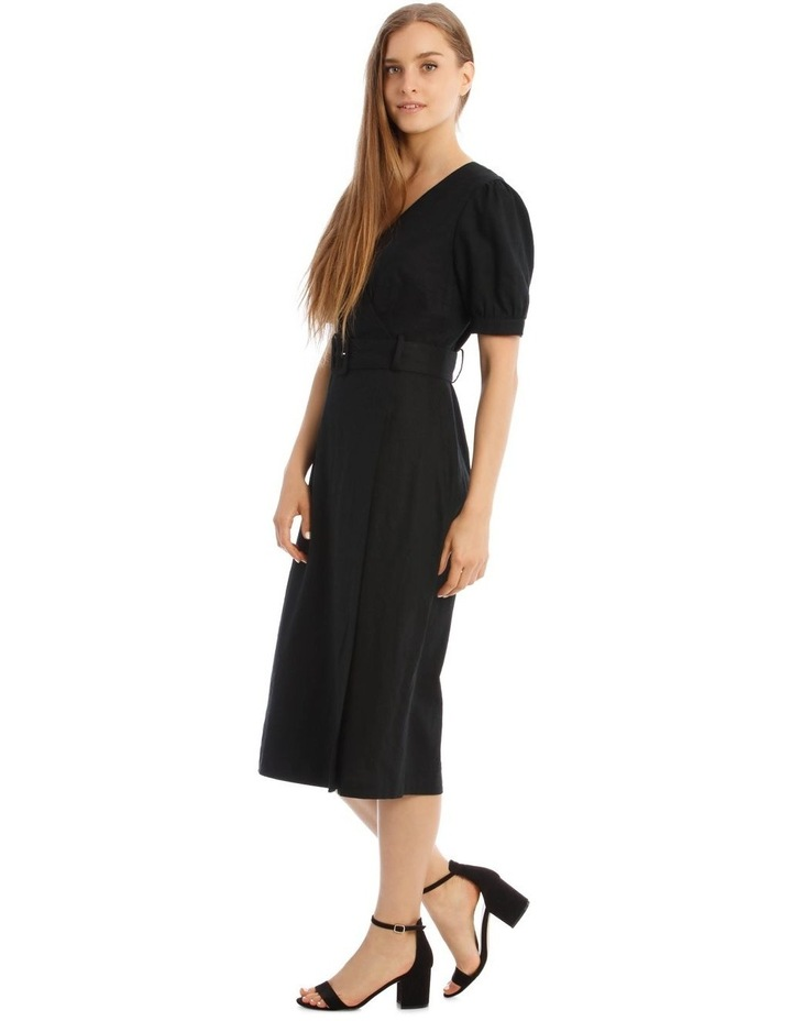 Belted Linen Dress image 2