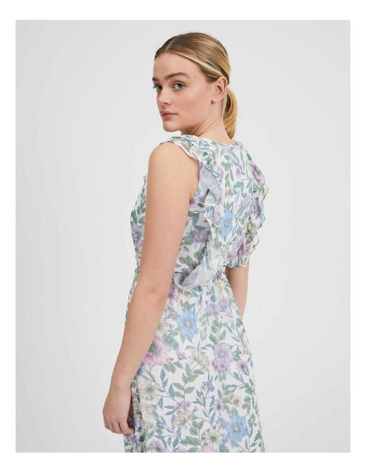 Ruffle Maxi Dress image 4
