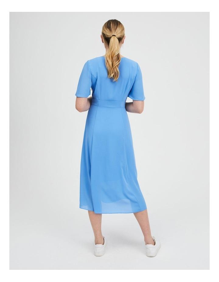 Flutter Sleeve Midi Dress image 3