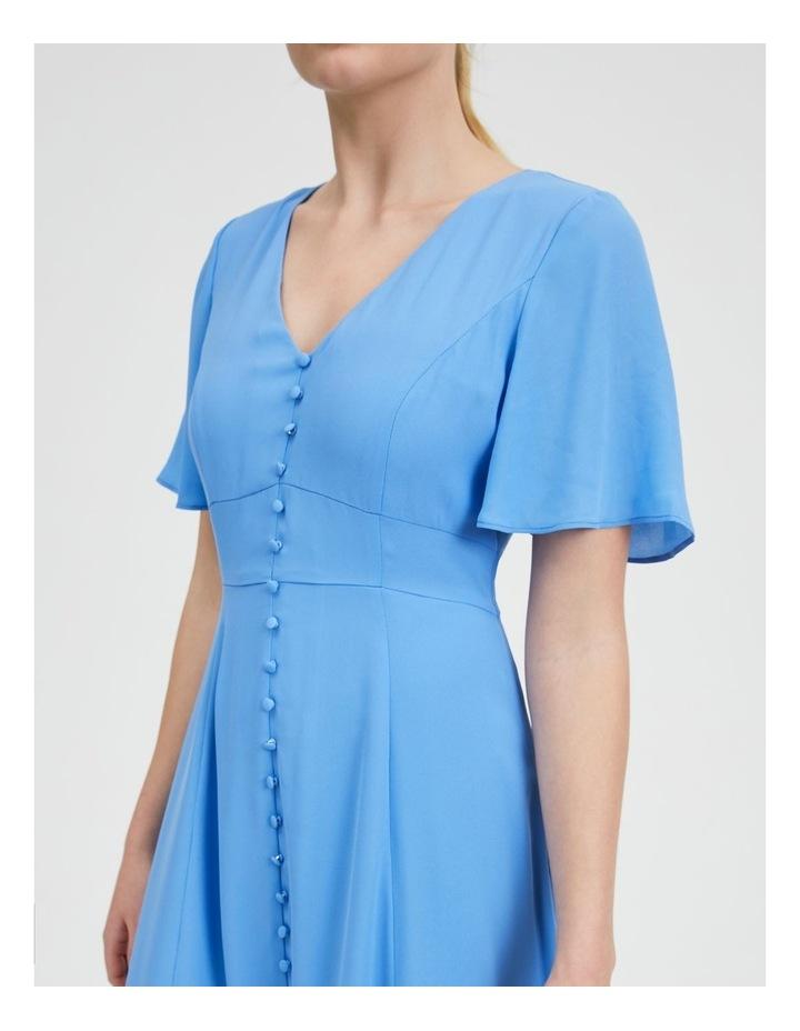 Flutter Sleeve Midi Dress image 5
