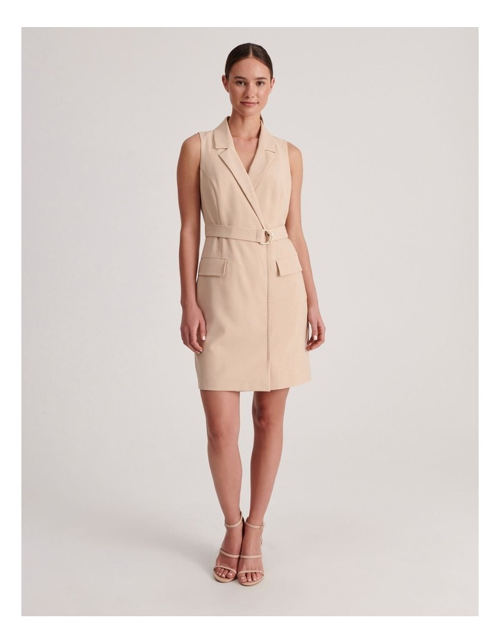 Sleeveless Blazer Dress image 1