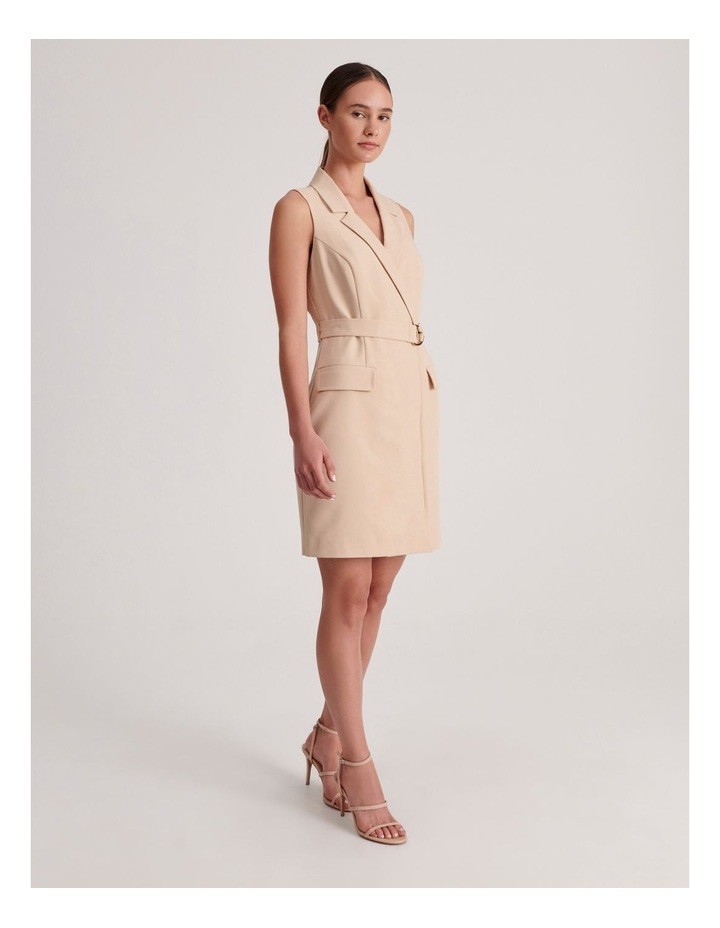 Sleeveless Blazer Dress image 2