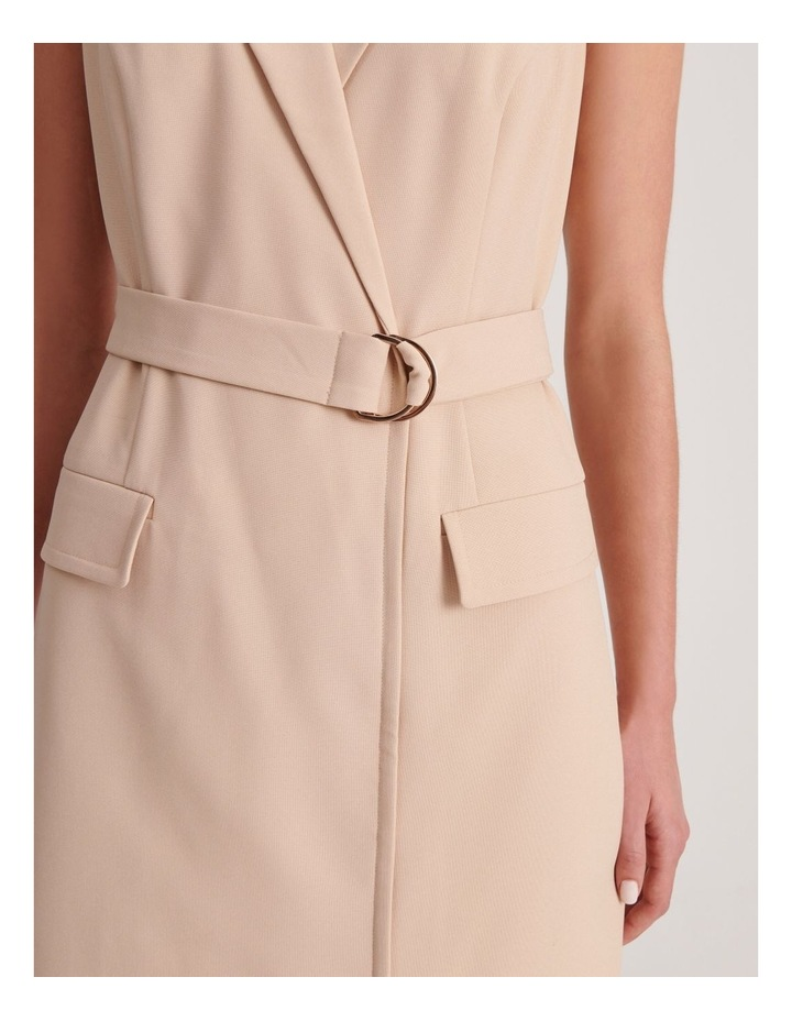 Sleeveless Blazer Dress image 4