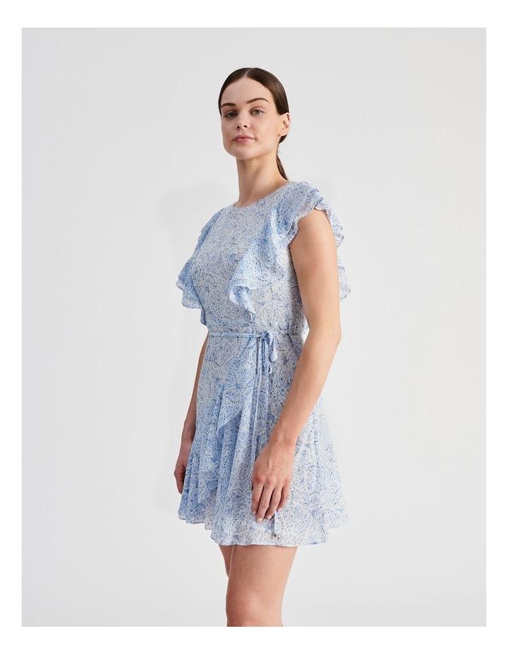 Ruffle Mini Wrap Dress image 2