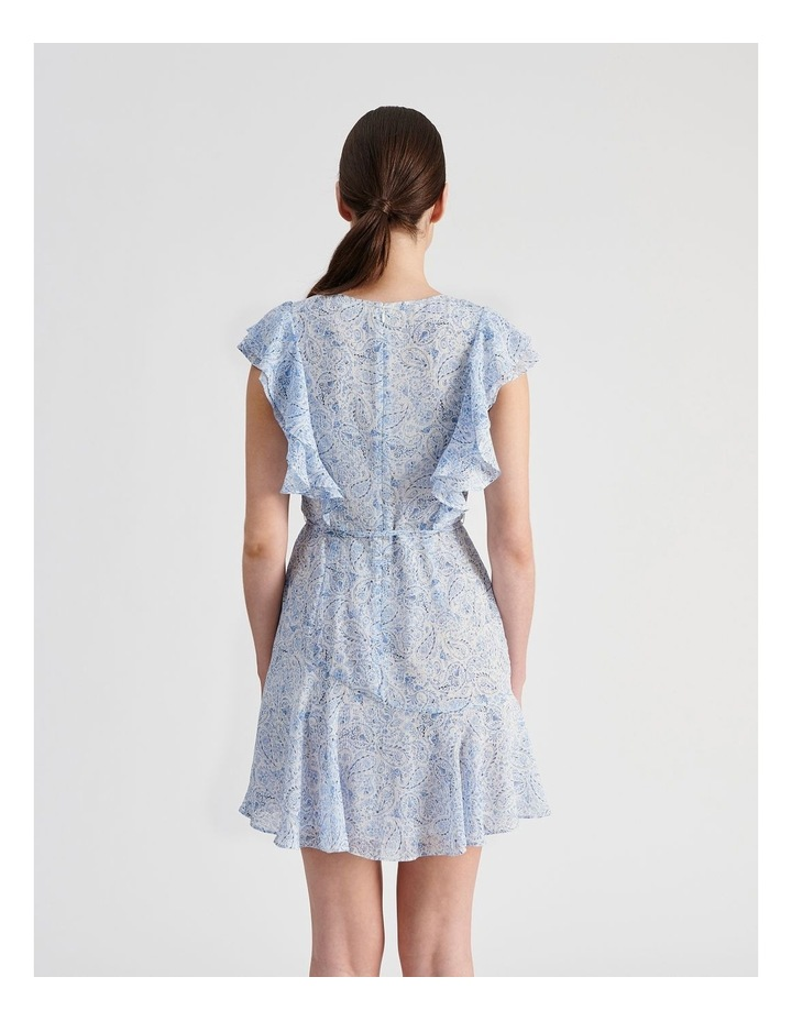 Ruffle Mini Wrap Dress image 3