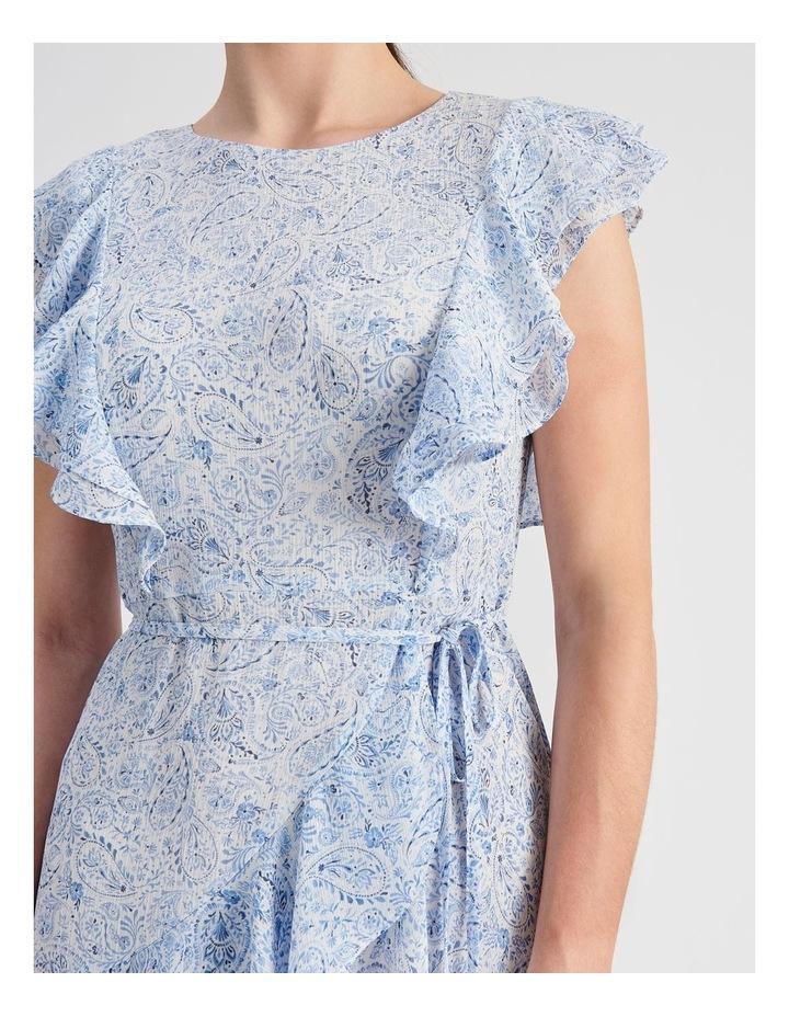 Ruffle Mini Wrap Dress image 5