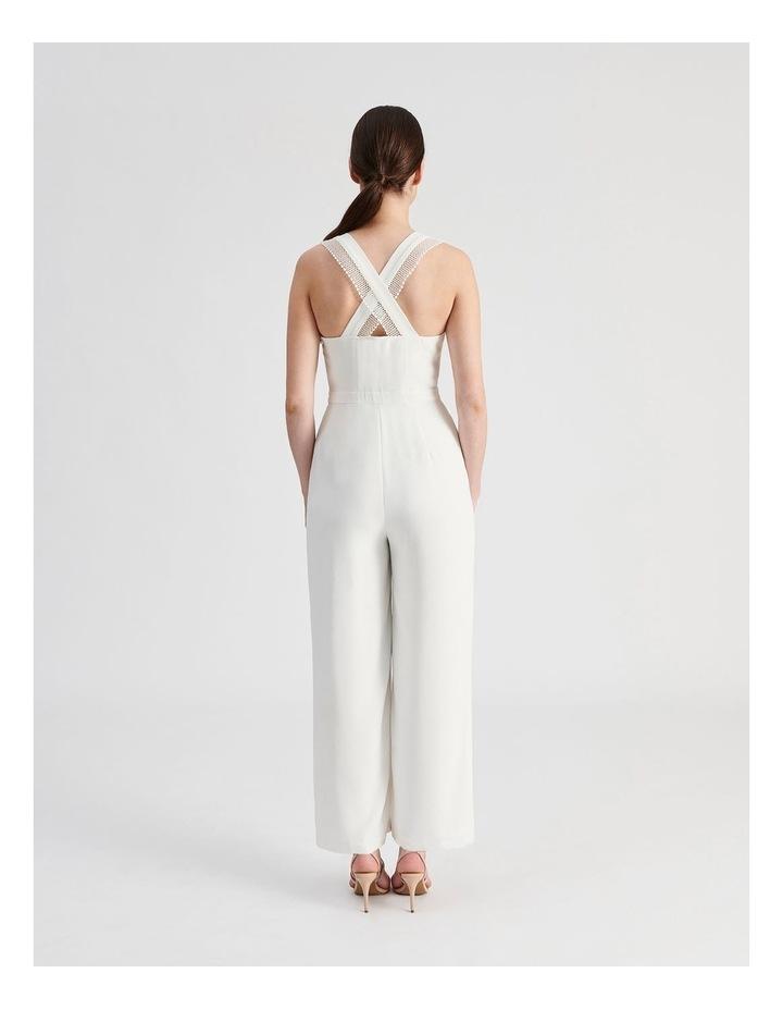 Wide Leg Lace Trim Jumpsuit image 3