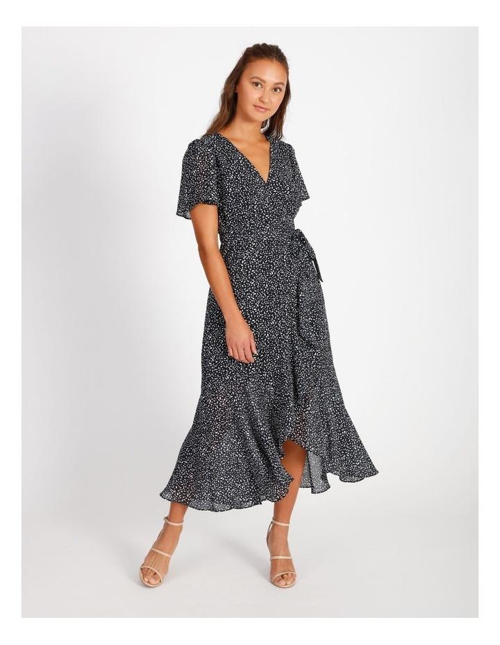 Ruffle Wrap Maxi Dress image 1