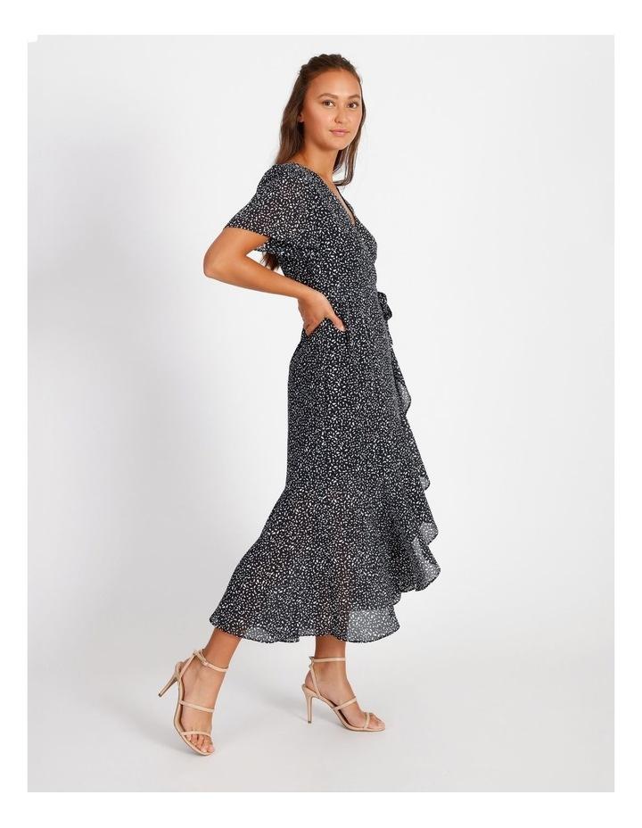 Ruffle Wrap Maxi Dress image 2