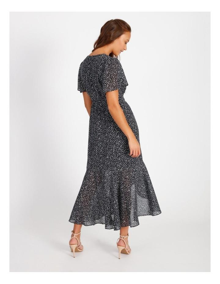 Ruffle Wrap Maxi Dress image 3