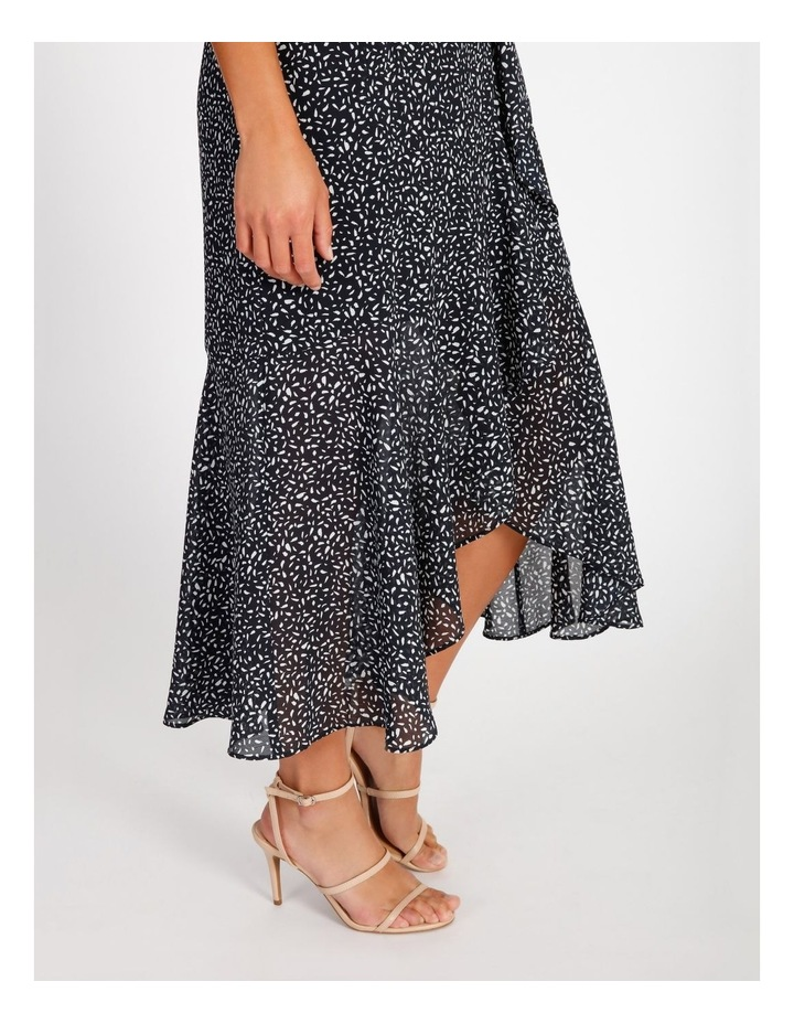 Ruffle Wrap Maxi Dress image 5