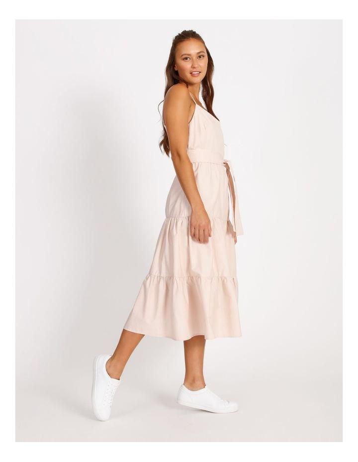 Cotton Poplin Tierd Maxi Dress image 2