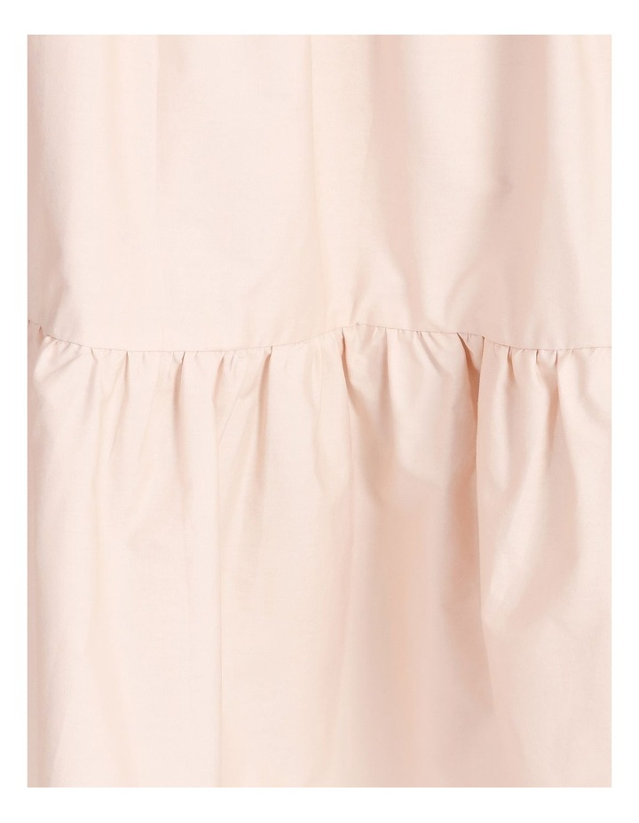 Cotton Poplin Tierd Maxi Dress image 5