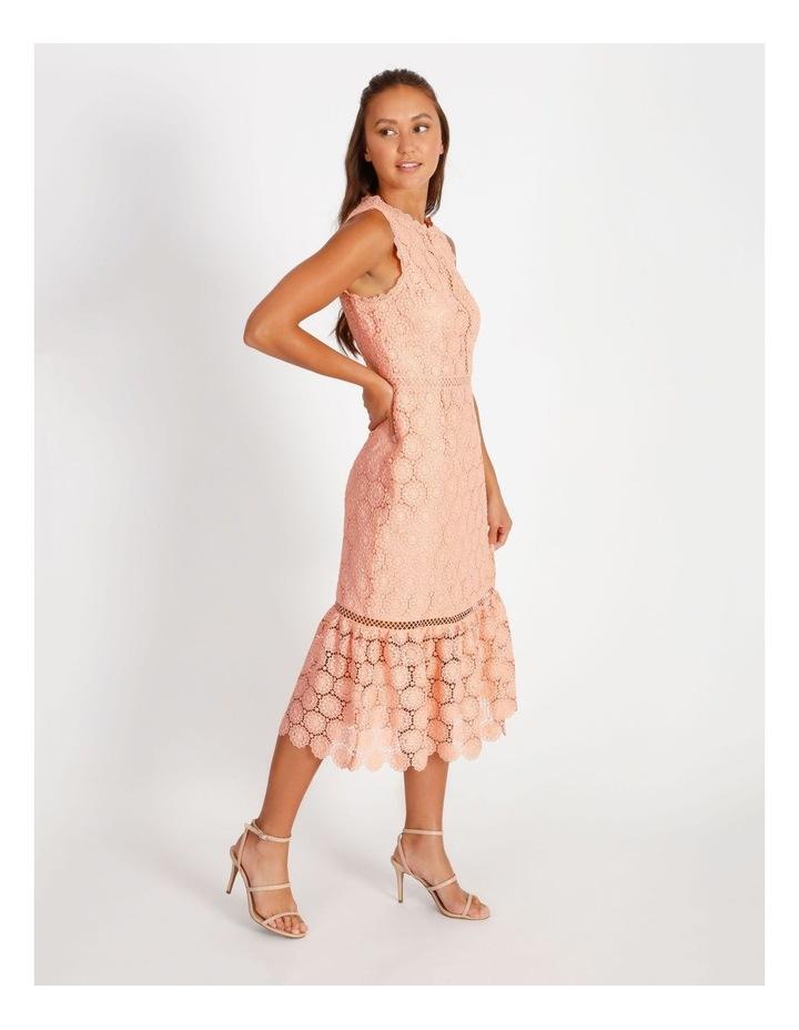 Lace Detail Midi Dress image 2