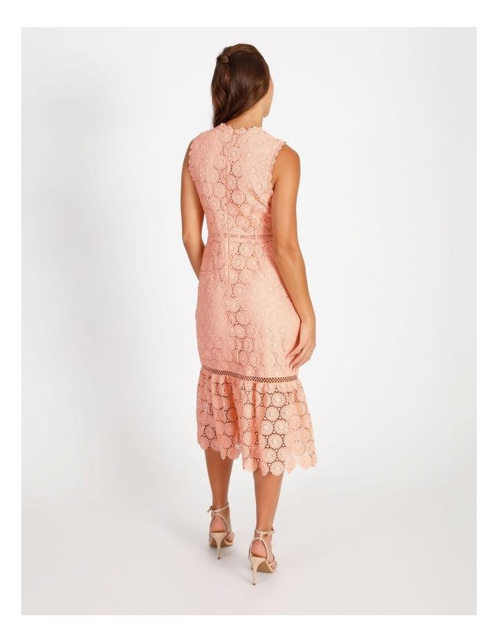 Lace Detail Midi Dress image 3