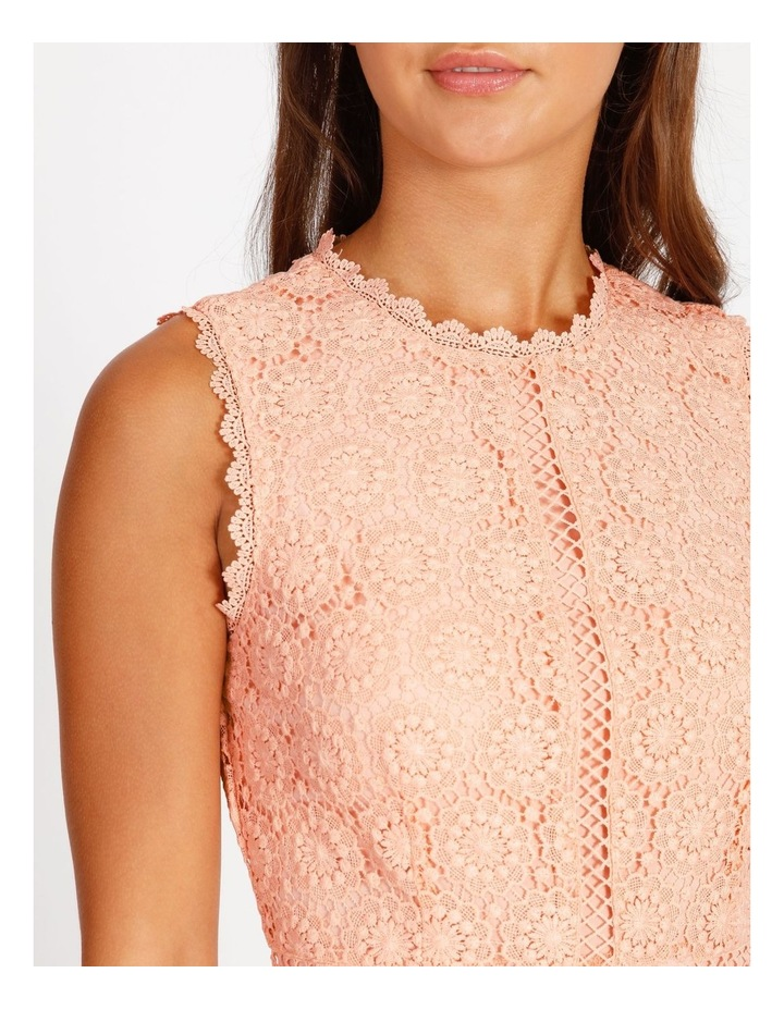 Lace Detail Midi Dress image 4