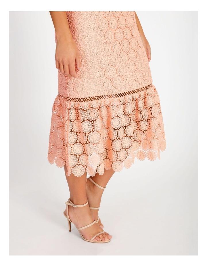 Lace Detail Midi Dress image 5