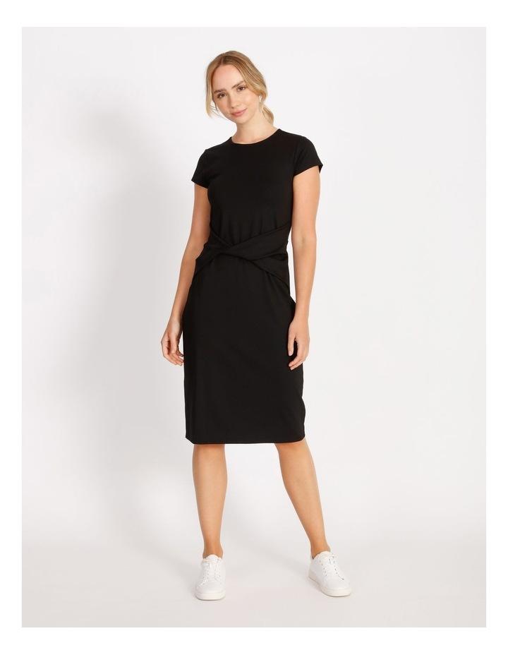Twist Jersey Midi Dress image 1