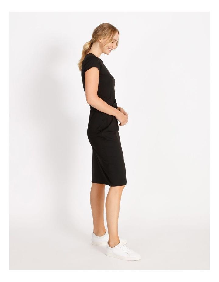 Twist Jersey Midi Dress image 2