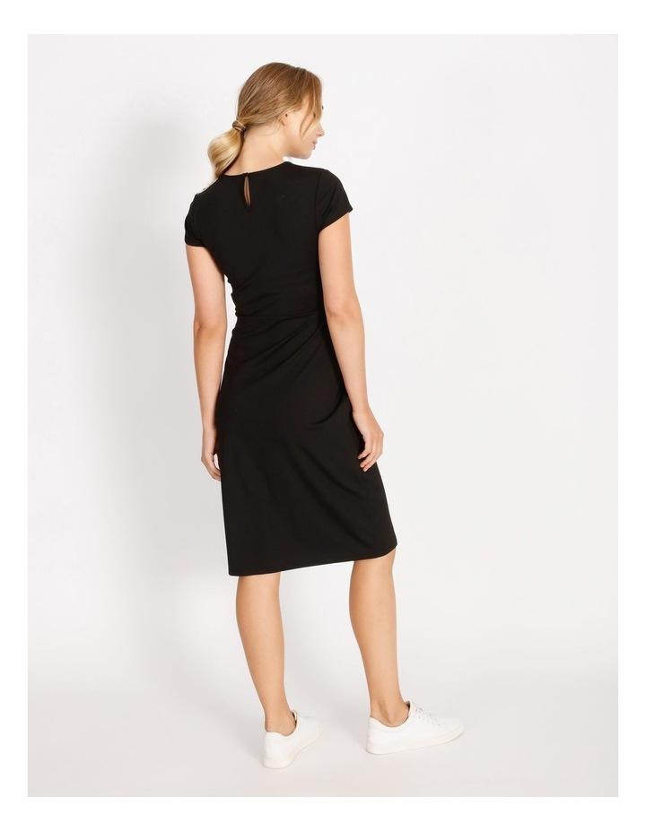Twist Jersey Midi Dress image 3