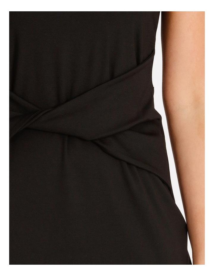 Twist Jersey Midi Dress image 4