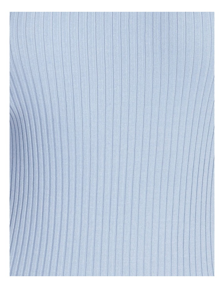 Scoop Neck Knitted Midi Dress image 5