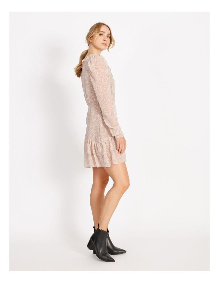 Ruffle Wrap Mini Dress image 2