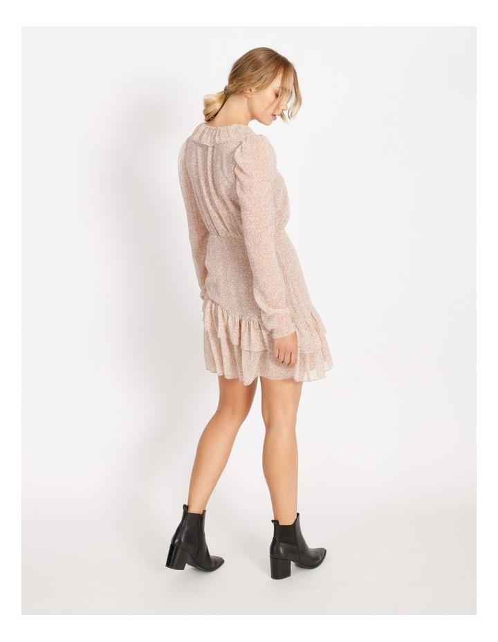 Ruffle Wrap Mini Dress image 3