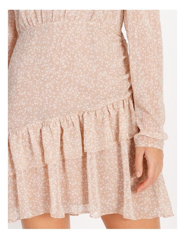 Ruffle Wrap Mini Dress image 4