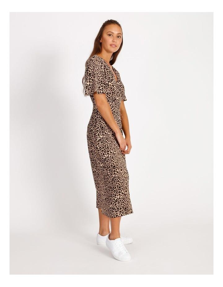 Printed Wrap Midi Dress image 2