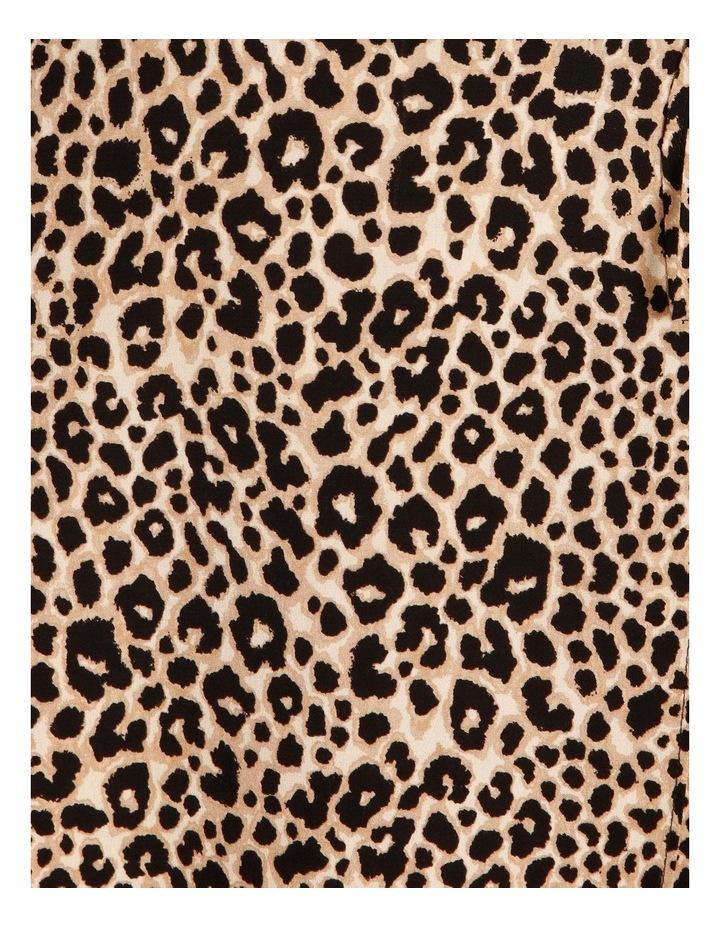 Printed Wrap Midi Dress image 5