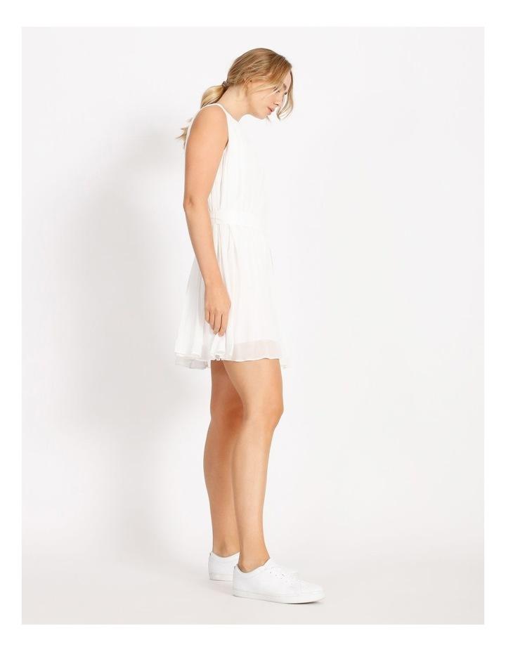 Pleated Mini Shift Dress image 2