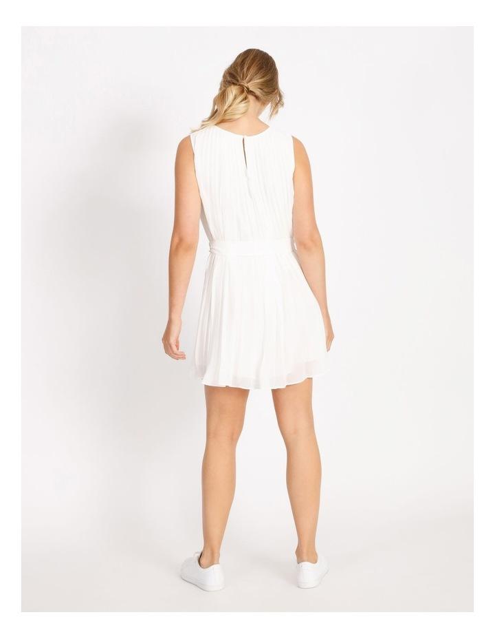Pleated Mini Shift Dress image 3