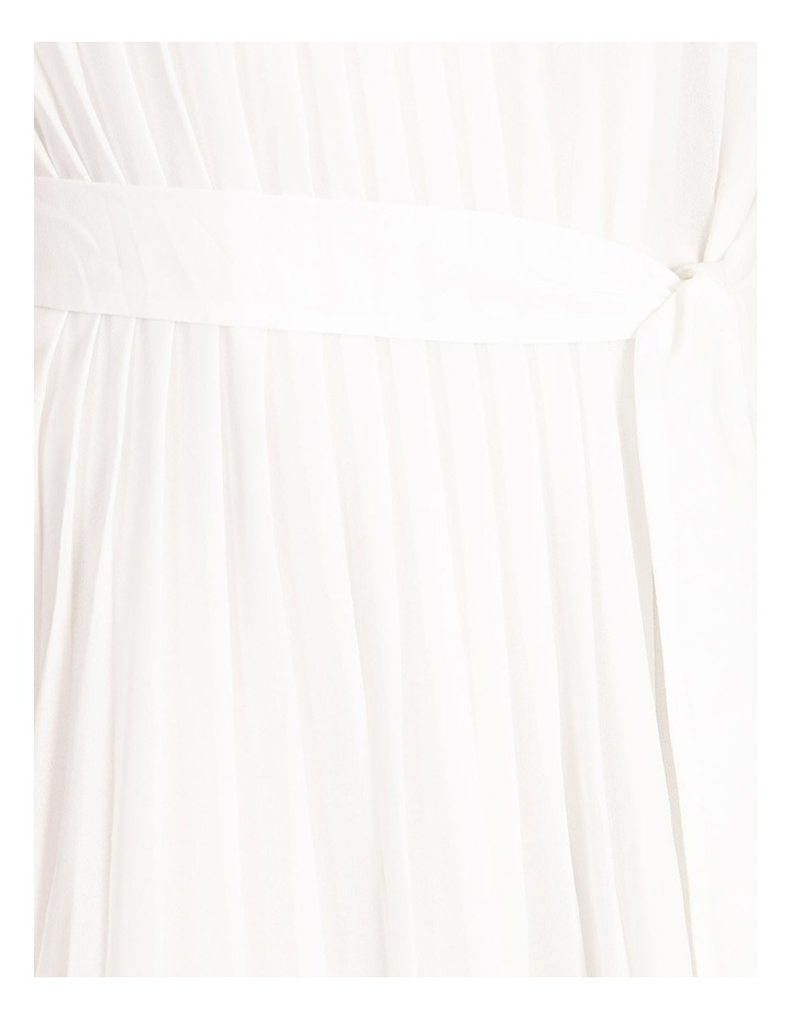Pleated Mini Shift Dress image 5