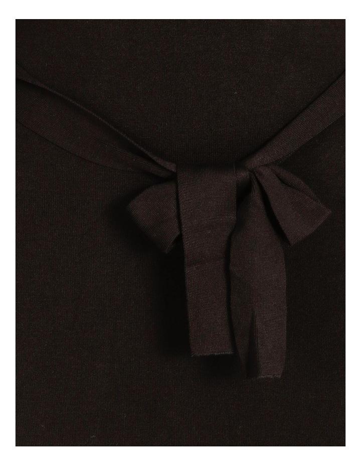 Tie Waist Midi Knit Dress image 4