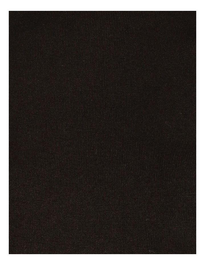Tie Waist Midi Knit Dress image 5